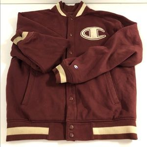 Champion Letterman Jacket  with Big C patch